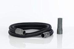 Hose set for vacuum cleaners